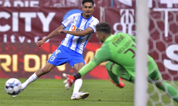 Ștefan Baiaram, în meciul Rapid - Universitatea Craiova / Foto: Sport Pictures