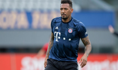 Freiburg Im Breisgau, Germany. 15th May, 2021. Football: Bundesliga, SC Freiburg - Bayern Munich, 33rd matchday at Schwarzwald-Stadion. Munich's Jerome Boateng before the match. Credit: Tom Weller/dpa - IMPORTANT NOTE: In accordance with the regulations o