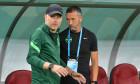 Edi Iordănescu și Mihai Stoica, înainte de FCSB - Sepsi / Foto: Sport Pictures