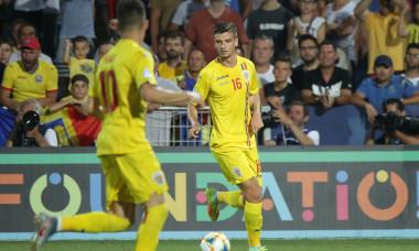 Dragoș Nedelcu, în tricoul echipei naționale de tineret / Foto: Sport Pictures