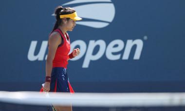 Emma Răducanu, la US Open / Foto: Profimedia