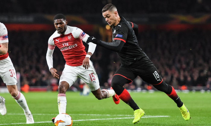 Arsenal v Rennes, Europa League., Round of 16 Leg 2 of 2 - 14 Mar 2019