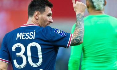 Reims v Paris Saint-Germain, Ligue 1, Football, Stade Auguste-Delaune II, Reims, France - 29 Aug 2021