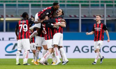 Italian football Coppa Italia match - FC Internazionale vs AC Milan