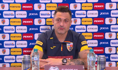 Mirel Rădoi, selecționerul României / Foto: Captură Youtube@FRF TV