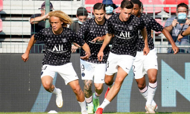 Paris Saint Germain v FC Augsburg, Pre-season Friendly, Football, Stade de la Source, Orleans, France - 21 July 2021