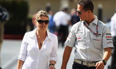 Corinna și Michael Schumacher / Foto: Getty Images