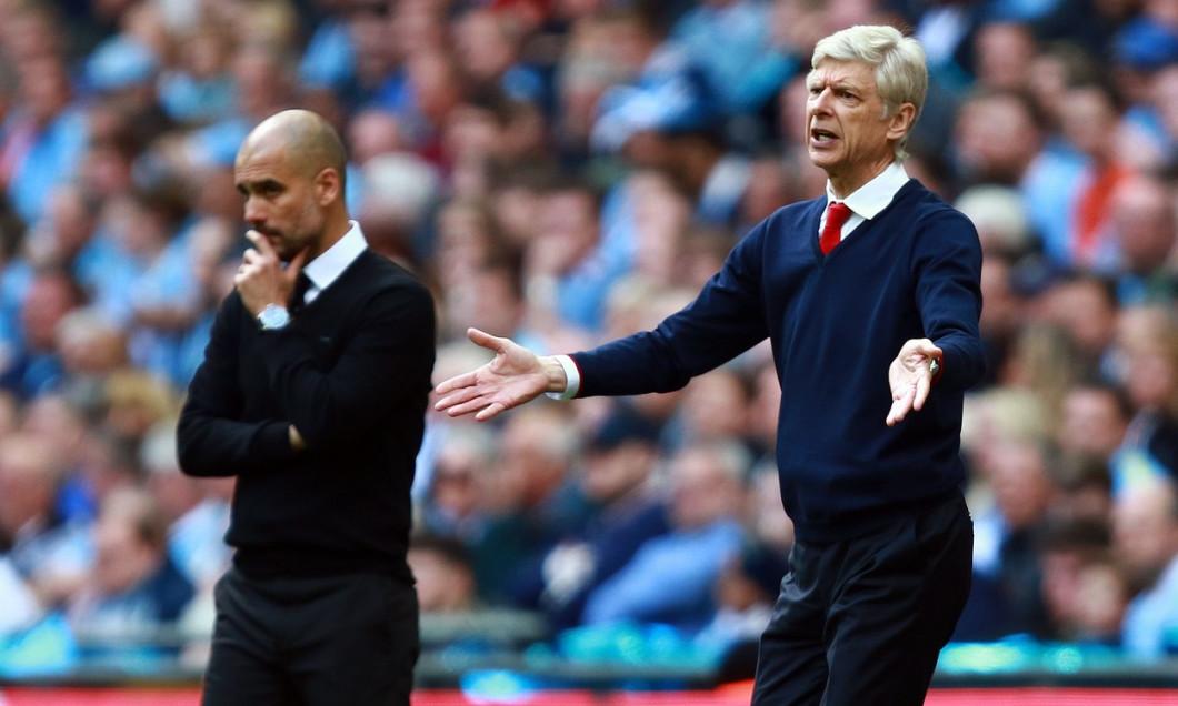 Arsenal v Manchester City, The Emirates FA Cup Semi-Final, Wembley Stadium, London, UK - 23 Apr 2017