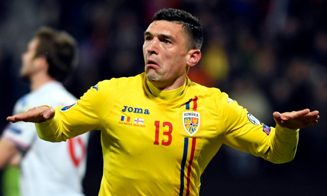 Claudiu Keșeru, în tricoul echipei naționale / Foto: Sport Pictures