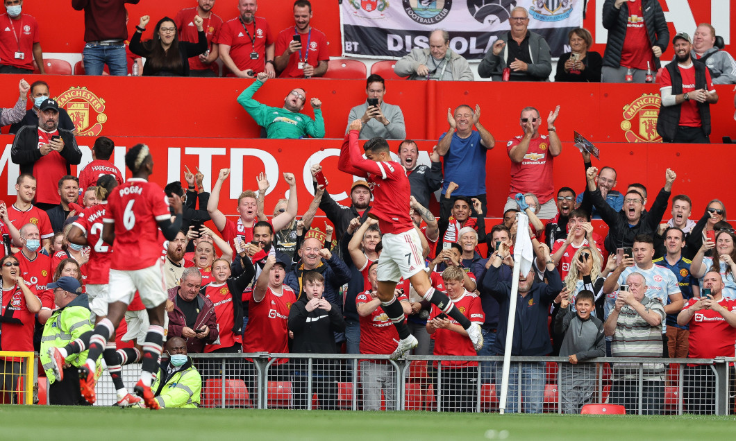 Cristiano Ronaldo, în Manchester United - Newcastle / Foto: Getty Images