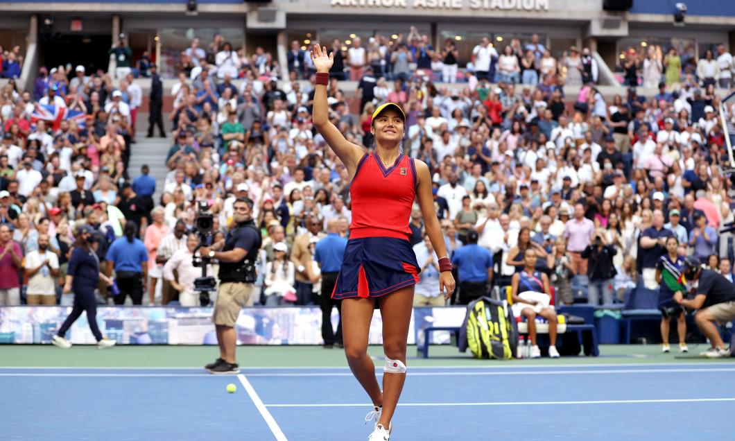 Emma Răducanu, campioana US Open 2021 / Foto: Getty Images