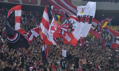 Suporterii lui Dinamo, la derby-ul cu FCSB / Foto: Sport Pictures