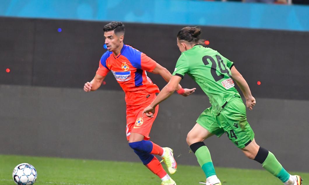 Valentin Gheorghe, în meciul FCSB - Dinamo / Foto: Sport Pictures