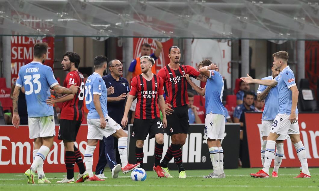 AC Milan v Lazio - Serie A - Giuseppe Meazza