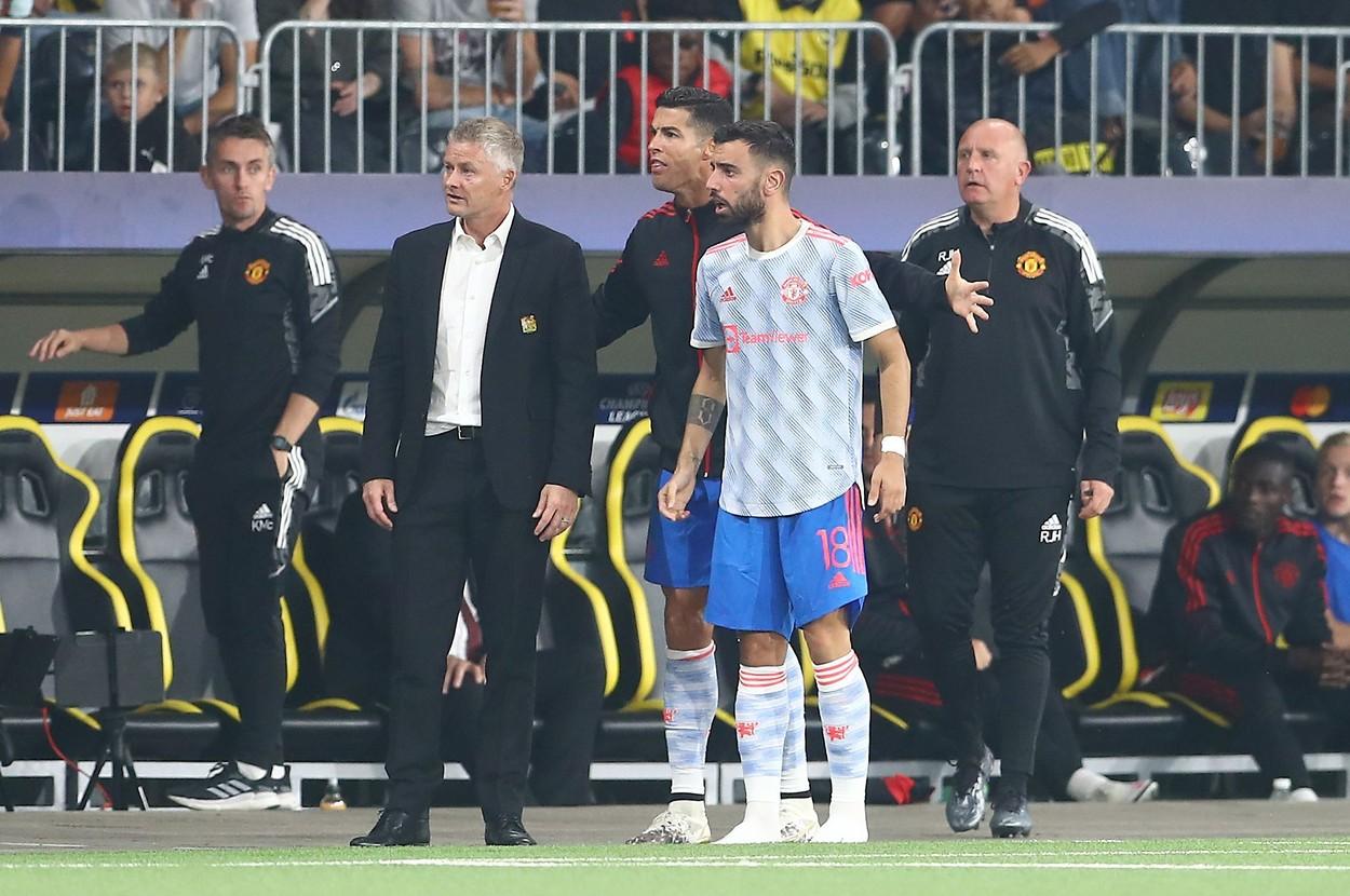 Cum explică Solskjaer înlocuirea lui Cristiano Ronaldo din meciul cu Young Boys + mesaj pentru Jesse Lingard
