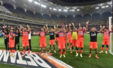 Fotbaliștii de la FCSB, după meciul cu Dinamo / Foto: Sport Pictures