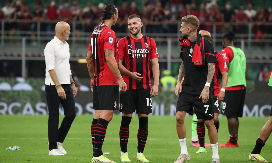 AC Milan v SS Lazio - Serie A, Italy - 12 Sep 2021