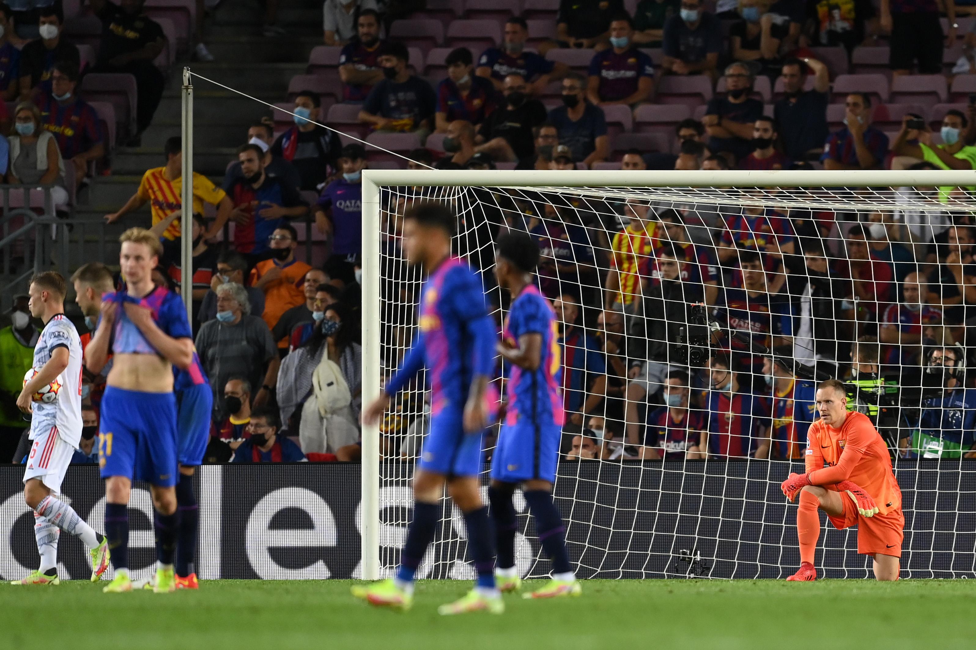 Barcelona - Bayern 0-3. Rușine istorică pentru catalani, la primul meci fără șut pe poartă. În august 2020 a fost 2-8