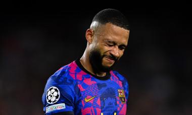Memphis Depay, în meciul Barcelona - Bayern / Foto: Getty Images