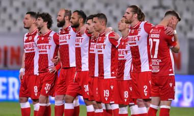 Fotbaliștii lui Dinamo, într-un meci cu Astra / Foto: Sport Pictures