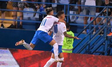 Jefte Betancor și Andrei Ciobanu, în meciul Farul - Dinamo / Foto: Sport Pictures