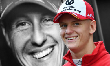 """Mick Schumacher will drive in Formula 1 for Team Haas from 2021. Archive photo; PHOTOMONTAGE: Ferrari team boss _ber Mick Schumacher """"How could we say no to this name?"""" Mick Schumacher is currently fighting for the title in Formula 3. No wonder that his n"""