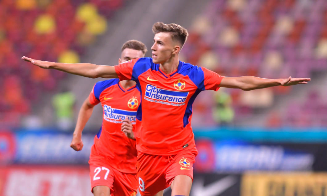 Octavian Popescu, mijlocașul de la FCSB / Foto: Sport Pictures