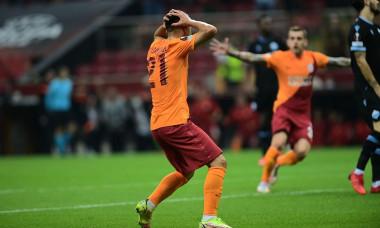 UEFA Europa League Group E match between Galatasaray and Lazio at Turk Telekom Stadium in Istanbul , Turkey on September 16, 2021.