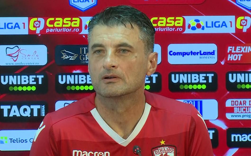 Iuliu Mureșan îl vrea în continuare antrenor la Dinamo pe Sorin Colceag. Ce ofertă îi face