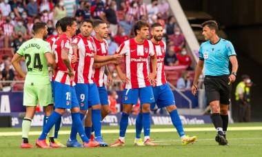 Atletico Madrid v Athletic Bilbao, La Liga Football, Estadio Wanda Metropolitano, Madrid, Spain - 18 Sep 2021