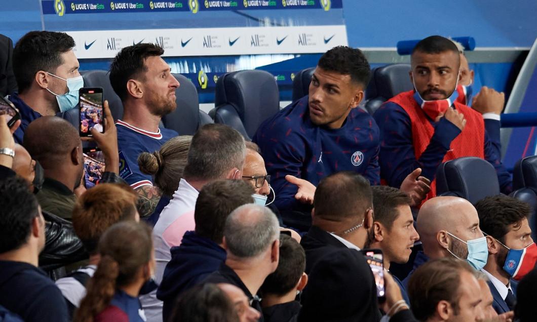 Paris Saint Germain v Olympique Lyonnais - Ligue 1 Uber Eats, France - 19 Sep 2021