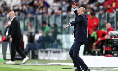 Juventus FC v AC Milan, Serie A, Allianz Stadium, Torino, Italy - 19 Sep 2021