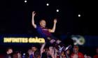 Barcelona v Real Sociedad, La Liga football match, Camp Nou, Barcelona, Spain - 20 May 2018