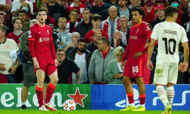 Liverpool v Milan, UEFA Champions League, Group B, Football, Anfield, Liverpool, UK - 15 Sep 2021
