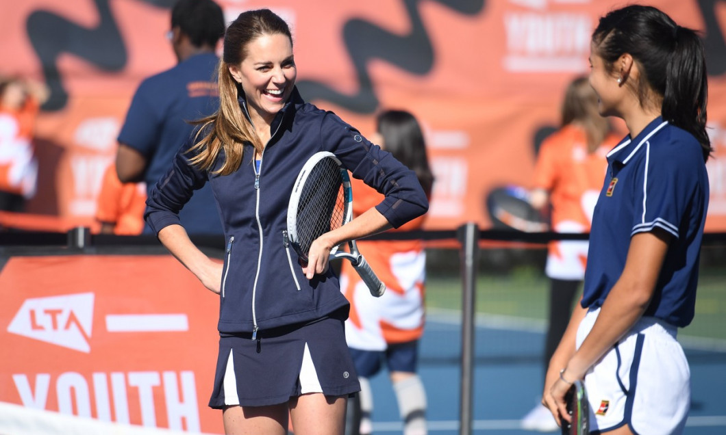 The Duchess of Cambridge visit to National Tennis Centre