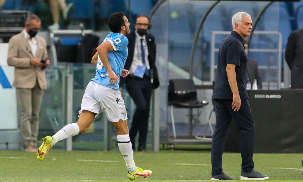 SS Lazio v AS Roma, Serie A, football, Olympic Stadium, Rome, Italy - 26 Sep 2021