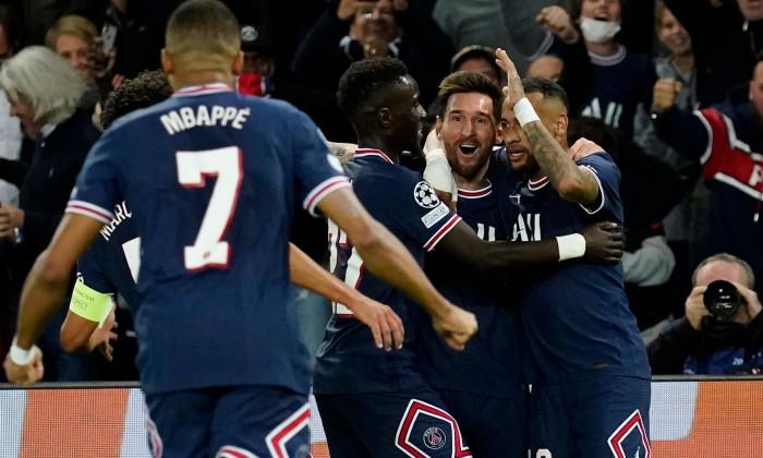 Paris Saint Germain v Manchester City, UEFA Champions League, Group A, Football, Parc des Princes, Paris, France - 28 Sep 2021