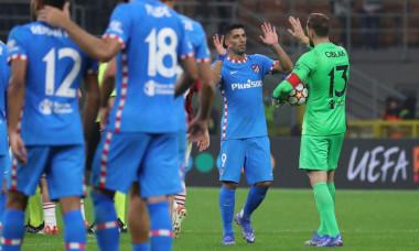 AC Milan v Atletico Madrid: Group B - UEFA Champions League, Italy - 28 Sep 2021