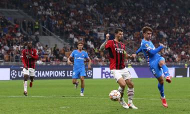 Antoine Griezmann, în meciul AC Milan - Atletico Madrid / Foto: Profimedia