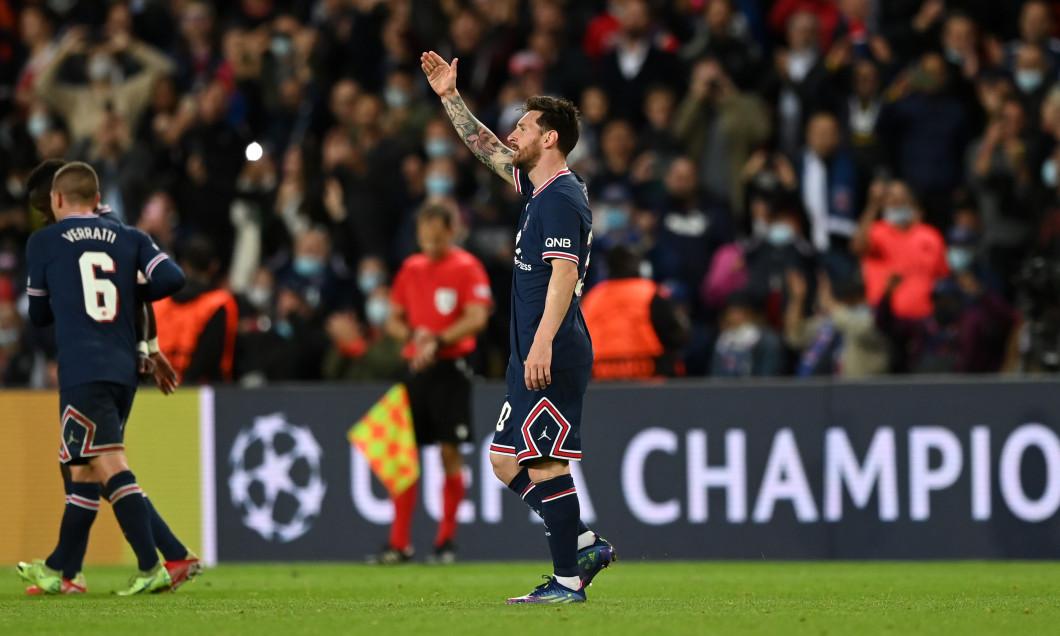 Lionel Messi, în PSG - Manchester City / Foto: Getty Images