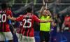 Cuneyt Cakir, în meciul AC Milan - Atletico Madrid / Foto: Profimedia
