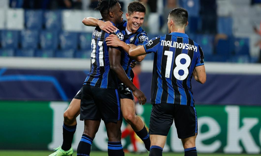 UEFA Champions League football match Atalanta BC vs Young Boys, Bergamo, Italy - 29 Sep 2021