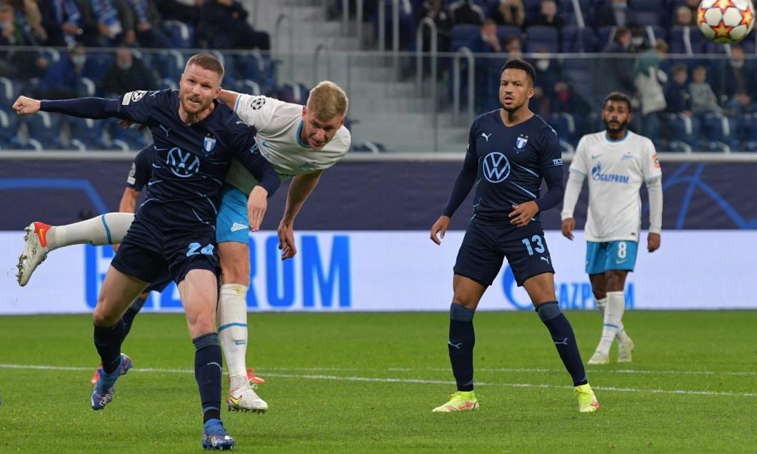 Russia Soccer Champions League Zenit - Malmo