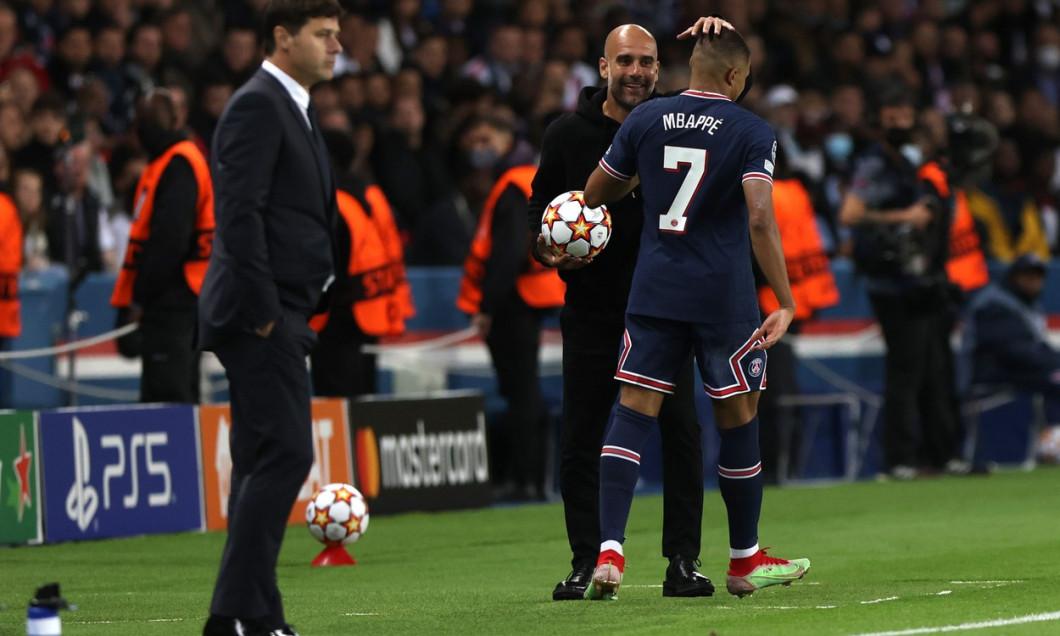 Paris Saint-Germain v Manchester City, UEFA Champions League, Group A football match, Parc des Princes stadium, Paris, France - 28 Sep 2021