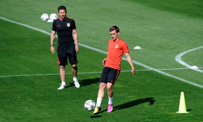 Club Atletico de Madrid Training Session