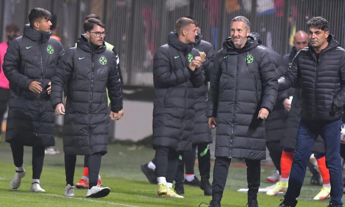 Mihai Stoica, după meciul Chindia - FCSB / Foto: Sport Pictures