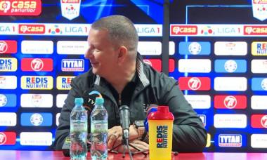 Ionuț Chirilă, în timpul conferințe de presă / Foto: Captură Digi Sport