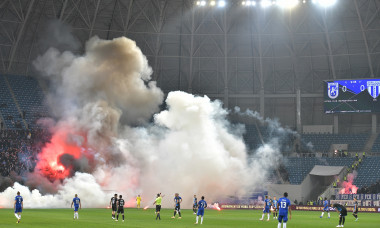 FOTBAL:FC U CRAIOVA-UNIVERSITATEA CRAIOVA, LIGA 1 CASA PARIURILOR (3.10.2021)