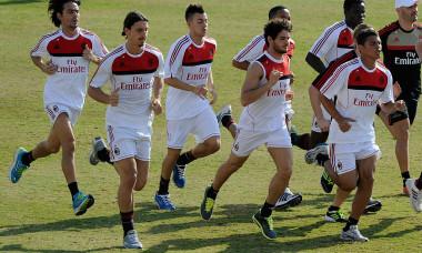 AC Milan Training Session