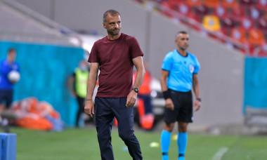 Dinu Todoran, în perioada în care era antrenor la FCSB / Foto: Sport Pictures